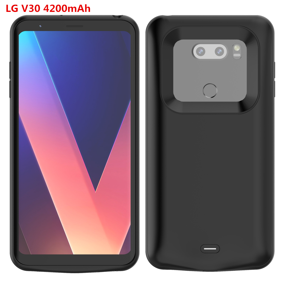 detailing 97f0e b98aa For LG G7 LG V40 ThinQ LG V30 Phone Case Battery Charger Case External  Backup Charger Power Bank Charging Protector Phone Case
