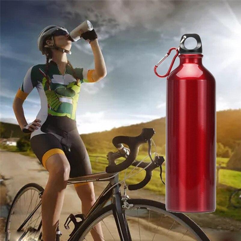 Flip Top Lid Direct Drinking Stainless Steel Outdoor Sport water bottle 400ml #4AP23