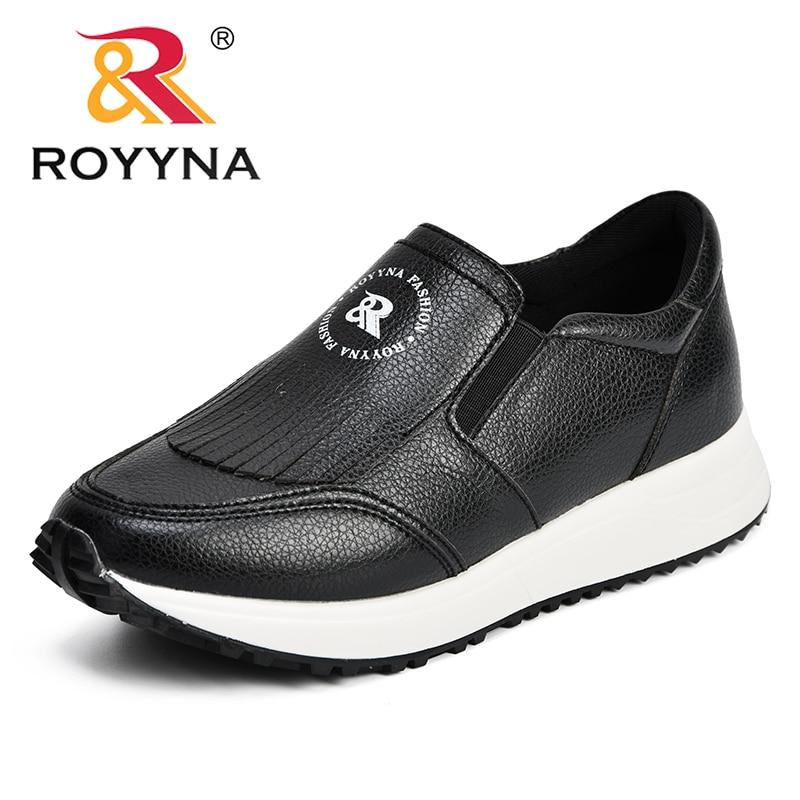 Sneakers Automne Femmes En Zapatillas sliver amp; Décontracté Slip red gun Femme Microfibre Chaussures Air Color Royyna Confortable Mujer Comfy on Printemps Black Grey Plein E57EXq