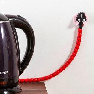 Image 5 - Soporte de llave de pared para casa de 5 piezas ganchos de pared adhesivos para auriculares colgador de llaves de cocina toallas de baño colgador de ventosa gancho