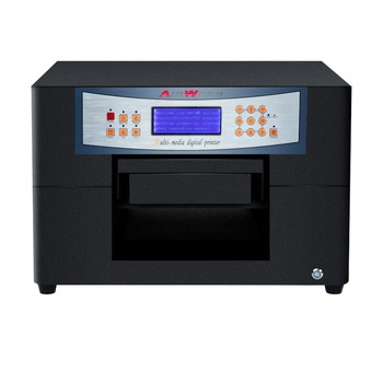 A4 size high resolution 5760X1440dpi uv plate type printer for candel printing