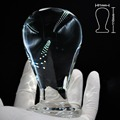 Большой шар pyrex стекло butt plug кристалл анальный фаллоимитатор мужской искусственный пенис простаты masturbator взрослых секс игрушки для женщин мужчин гей