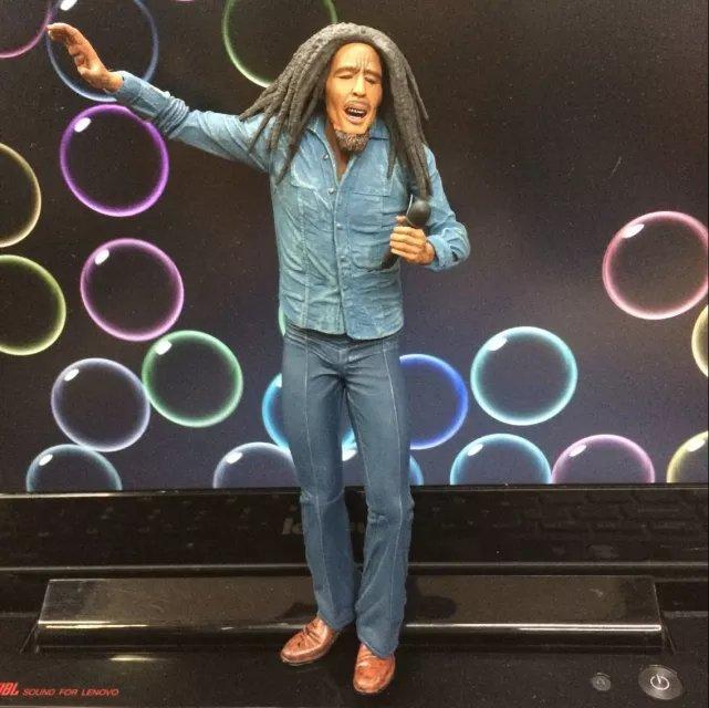 NEW Hot 17cm Bob Marley LENDAS Do ROCK Reggae Action Figure Toys Collection Christmas Gift