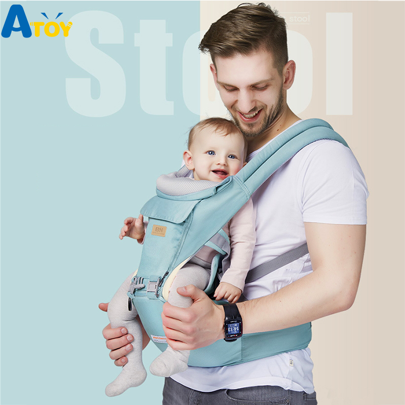 Newborn Baby Carrier Detachable Waist Stool Infant Hipseat Front Carrying Multifunctional Baby Carrier Sling Kangroo Carrier цены