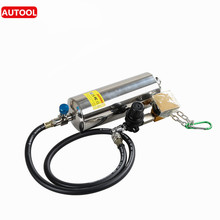 AUTOOL C100 Automotive Non-Dismantle Fuel System Injector Cleaner Fuel Injector Tester for Petrol EFI Throttle C100 Washing Tool