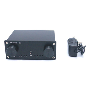 Image 5 - Lusya 4 Input 4 Output Lossless Audio Signal Switcher Switch Splitter Selector DC 12V E4 003