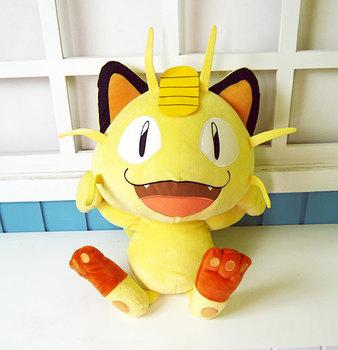 Kieszonkowe potwory Team Rocket jest Meowth Cosplay maskotki zabawki Anime nadziewane i pluszowe lalki z kreskówek tanie i dobre opinie Dla dorosłych Kostiumy others