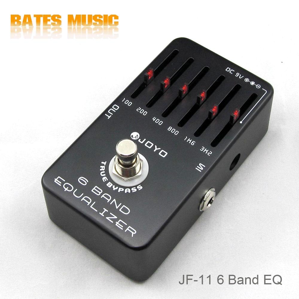 buy joyo jf 11 guitar effect pedal equalizer with 6 bands eq electric bass. Black Bedroom Furniture Sets. Home Design Ideas
