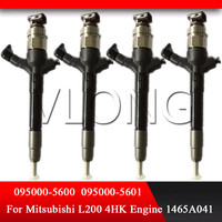 1465A041 095000 5600 rail fuel injector for Mitsubishi L200 4D56 engine