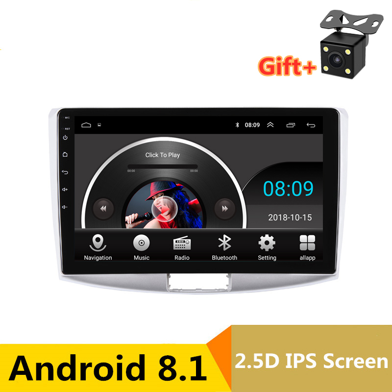 "10"" 2.5D IPS Android 8.1 Car DVD Multimedia Player GPS for Volkswagen VW Passat B6 B7 2007 11-2015 audio radio stereo navigation"