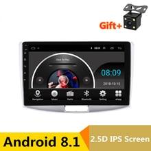 10 «2.5D ips Android 8,1 DVD мультимедиа плеер gps для Volkswagen VW Passat B6 B7 2007 11-2015 аудио стерео радио навигации