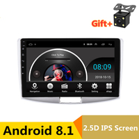 10 2.5D IPS Android 8.1 Car DVD Multimedia Player GPS for Volkswagen VW Passat B6 B7 2007 11 2015 audio radio stereo navigation