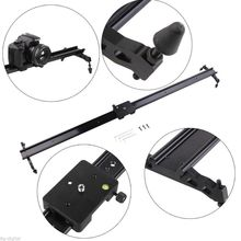 """Los detalles sobre Pro 31 """"80 cm sistema estabilizador de vídeo deslizante dolly Para DSLR cámara track Camcorde"""