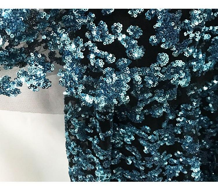 Pour Femmes Manches Perles Haute Taille Mini 2019 Broderie Paillettes Élégant D'été Plage Coréenne Oftbuy Sans De Maille Robe Scintillantes TPax8w