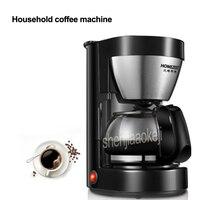 220v 600w CM 326 Electric Drip Coffee Maker Home coffee machine 6 cup tea coffee pot Semi automatic drip tea/cafe maker 0.65L