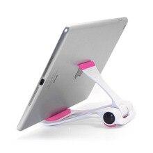 Universal Tablet PC Holder Foldable Adjustable Angle Desk Phone Holder Stand Fle