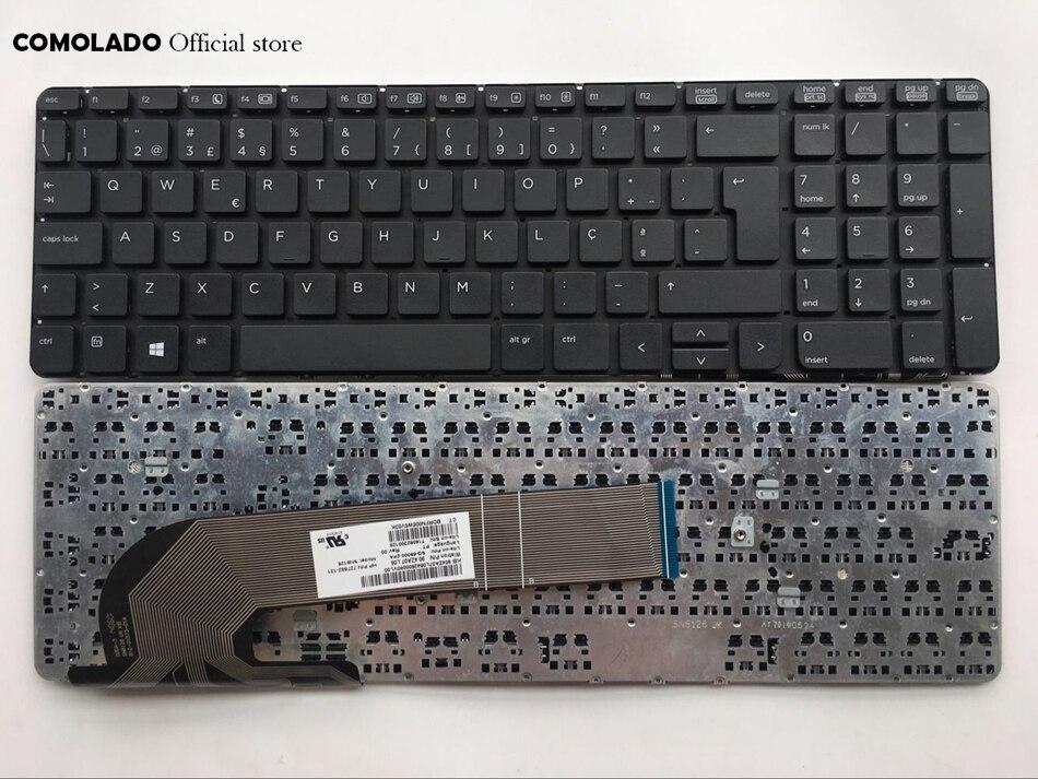 FOR HP Probook 6540B 6545B 6550B 6555b keyboard with Pointer Portuguese Teclado