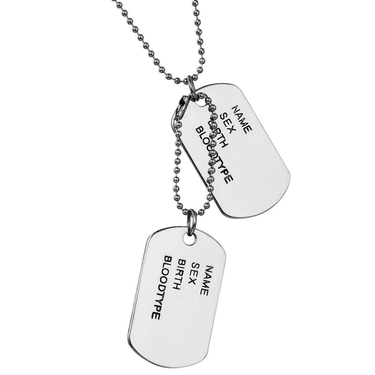 forever gift stainless my pendant product to products military valentines couple tresarbox steel image love present day necklace