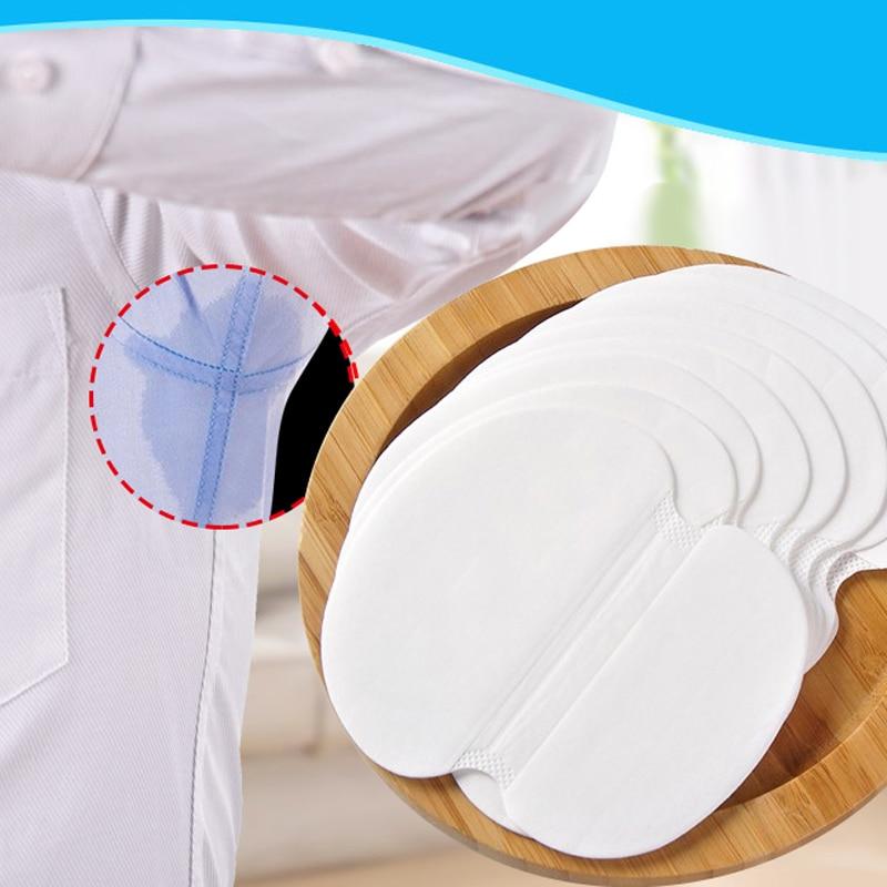 Hot Sale 50 Pcs Unisex Armpit Perspiration Antiperspirant Deodorant Underarm Absorbing Sweat Shield Pad Sweat Absorption Paste