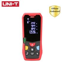 UNI-T Handheld Laser Rangefinder Distance Meter 40M 50M 150M Medidor Laser Tape Build Measure Device Electronic Ruler LM40-LM150 leitz hld40 handheld laser rangefinder 50 m laser foot electronic ruler