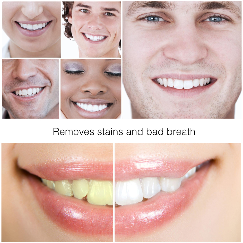 Teeth Whitening Tooth Care Bamboo Natural Activated Charcoal Black Toothpaste Oral Hygiene Dental 4