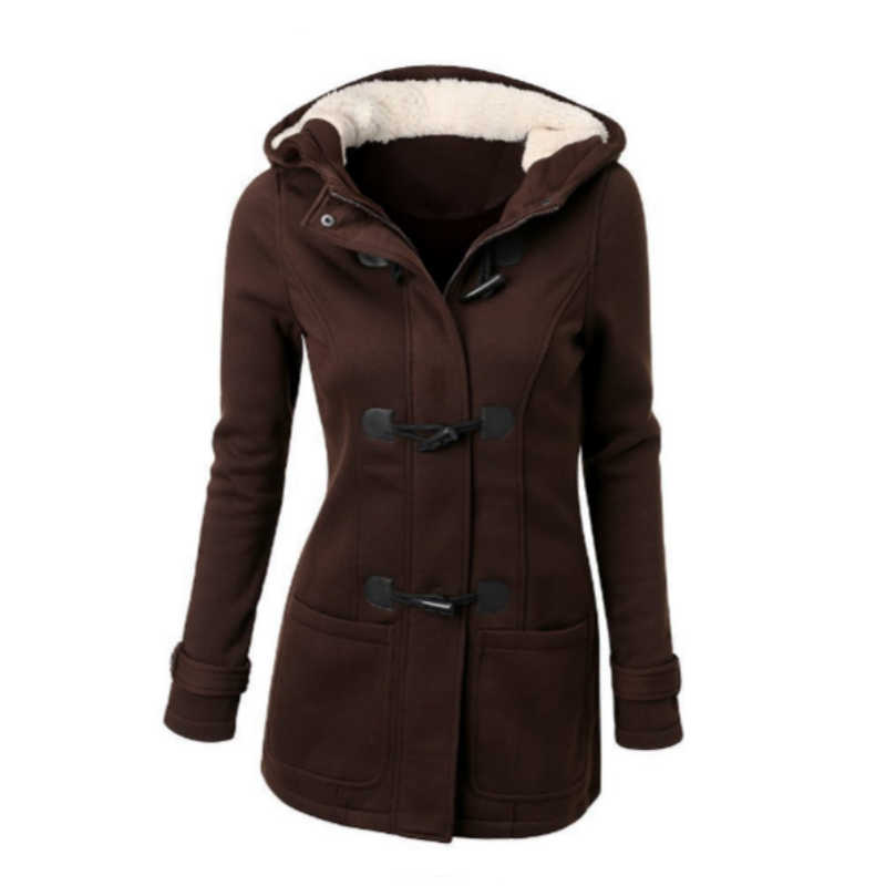 แจ็คเก็ตพื้นฐาน 2019 ฤดูใบไม้ร่วงผู้หญิงเสื้อกันหนาวซิป Casual Outwear หญิง Hooded Coat Casaco Feminino สุภาพสตรีแจ็คเก็ต 5XL