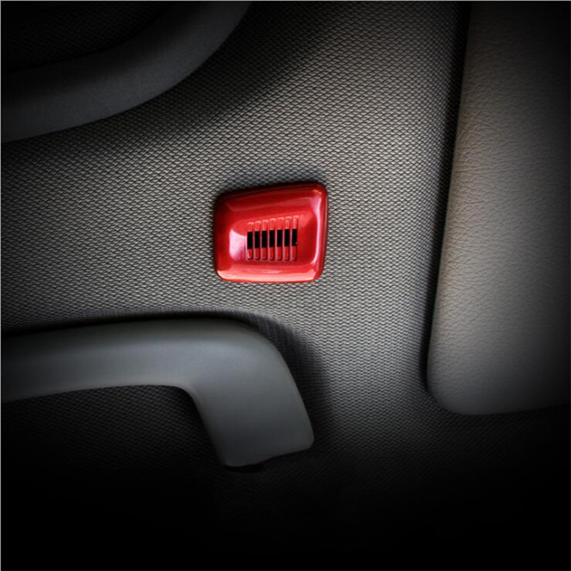 Car Interior Accessories Microphone ABS Decorative Cover Strip Stickers For BMW E46 E90 E60 F30 E36 F10 F20 F25 X1 X3 X4 X5 X6