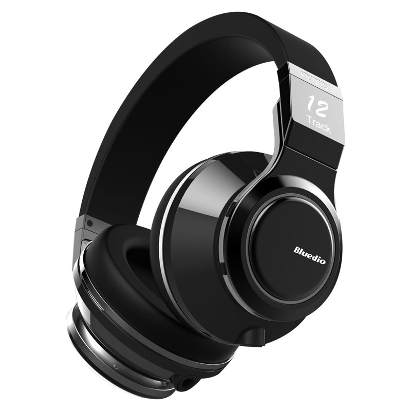 Bluedio V (Victoria) de gama alta auriculares inalámbricos Bluetooth PPS12 controladores Smart Touch diseño sobre los auriculares con micrófono