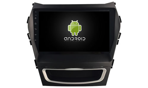 OTOJETA DSP stereo carplay android 8.1.2 car radio for hyundai santa fe 2014 IX45 Gps navi Ips screen video player tape recorder