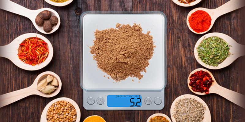 Balance de cuisine numérique GASON Z1s Mini poche en acier inoxydable bijoux de précision Balance électronique poids or grammes (3000g x 0.1g)
