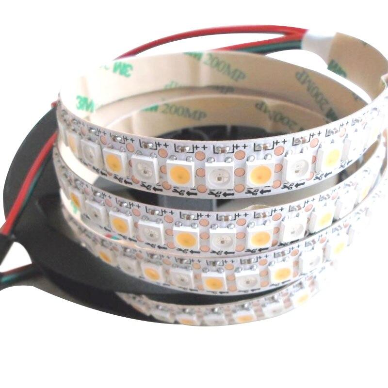 5mX High quality addressable APA104 RGBW WW CW LED strip 5V input 5050smd digital led strip