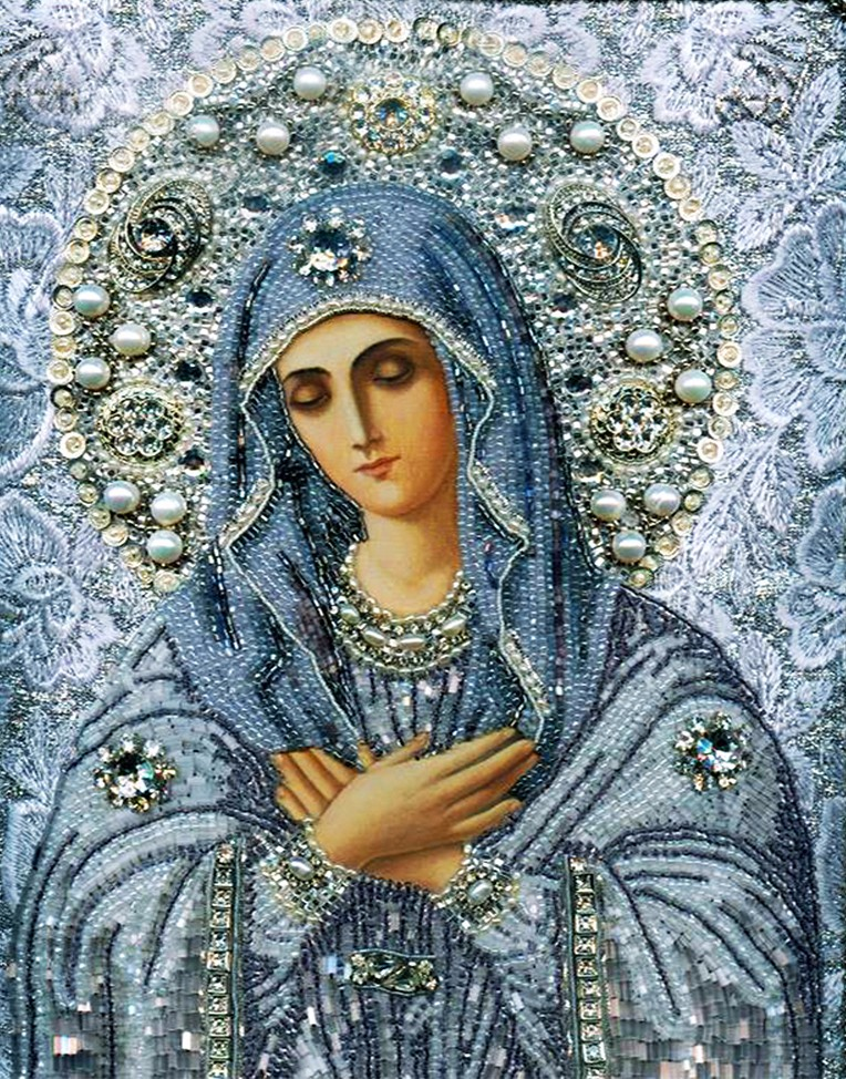 New hobby 5d diy diamond painting Religion Women Virgin Mary Handicraft cross stitch painting rhinestones diamond embroidery
