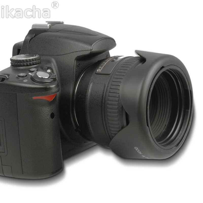Capa de lente flor pétala reversível 49 52 55 58 62 67 72 77 82mm para canon nikon sony pentax dsir câmera