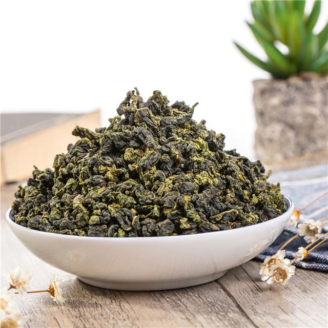Chinese Taiwan Milk Oolong Tea Beauty Weight loss Lowering Blood Pressure High Mountains JinXuan Milk Oolong Tea Fresh Green Tea