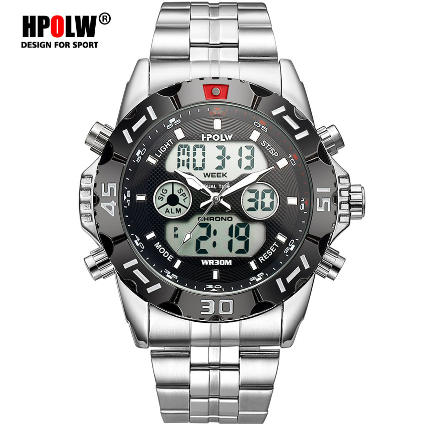 Mens Relógios Relógio Chronos Alarme Digital LED Top Marca de Luxo G Relógio Do Esporte de Choque Homens Relógio relógio Relogio masculino