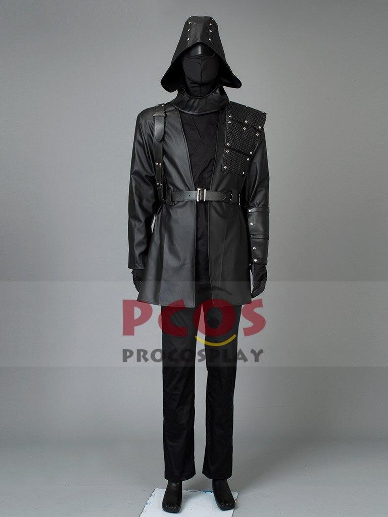Green Arrow Season 1 Malcolm Merlyn Cosplay Costume Custom mp002518
