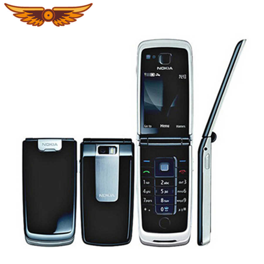 6600f Original Nokia 6600f Bluetooth 3G Unlocked Cell Phone One year  warranty Free Shipping