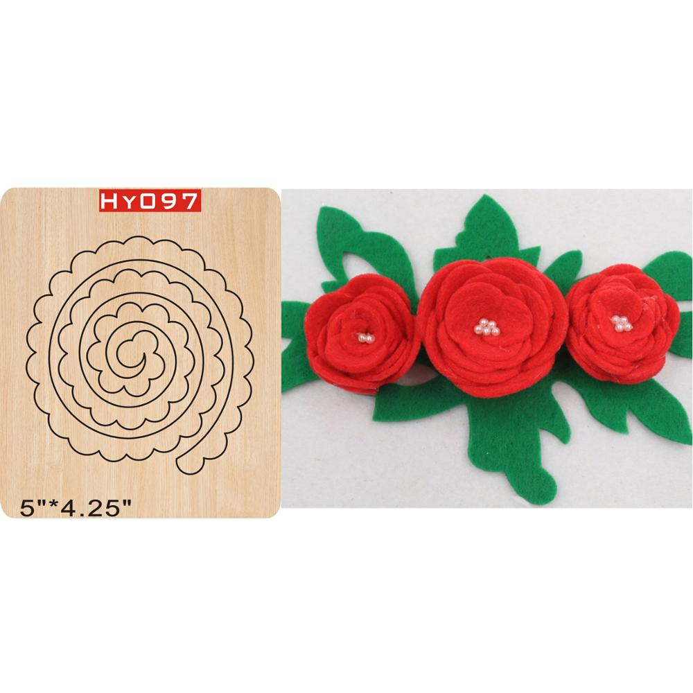 Folding Flower  Cutting Dies 2019 New Die Cut &wooden Dies Suitable  For Common Die Cutting  Machines On The Market