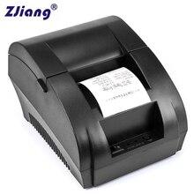 Original ZJ 5890K 58mm POS Thermal Receipt Bill Printer Universal Ticket Printer Support cash drawer driver Dot-matrix