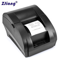 Original ZJ 5890K 58mm POS Thermal Receipt Bill Printer Universal Ticket Printer Support cash drawer driver Dot matrix