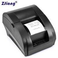 Original ZJ 5890K 58mm POS Thermische Erhalt Bill Drucker Universal Ticket Drucker Unterstützung bargeld schublade fahrer Dot- matrix