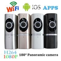 1 PCS 1920 1080 2 0MP IP Camera Home Security Surveillance Wireless 180 Degree Wifi Panoramic