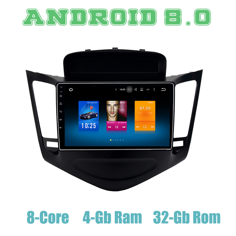 Octa core px5 Android 9.0 car GPS radio player for <font><b>Chevrolet</b></font> <font><b>cruze</b></font> with 4+32G wifi 4g <font><b>usb</b></font> auto Multimedia image