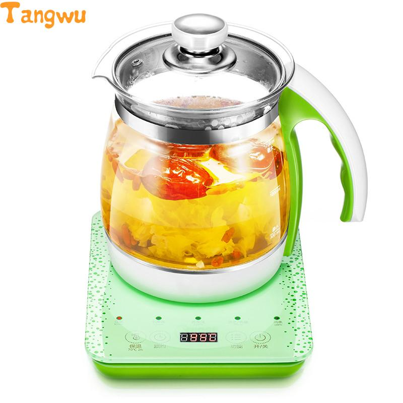 Free shipping Multifunctional health pot decocting of tea glass thickened electric kettle free shipping 12 tea bag lemon ginger tea instant ginger tea180g herbal tea stomach tea good for health