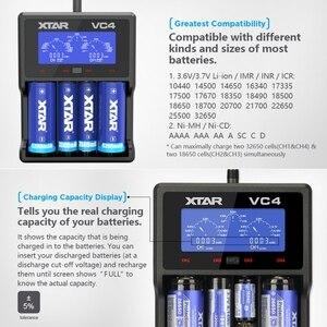 Image 4 - XTAR VC4 Batterie Ladegerät 20700 18650 21700 14650 17335 17670 18490 10440 14500 16340
