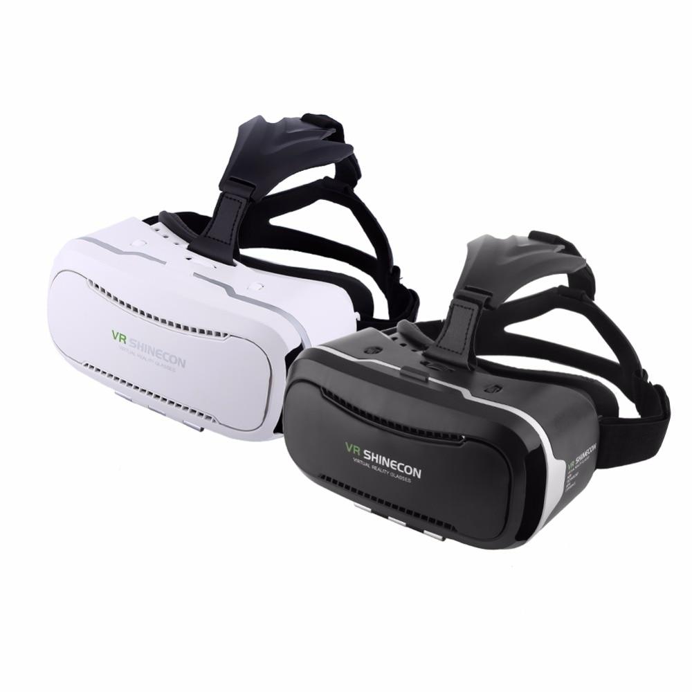 2 Colores 3D VR Gafas de Realidad Virtual Auriculares wih Correa Ajustable para