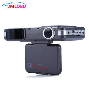 2 in 1 HD Dash Cam G-Sensor Safety Anti Police Speed Control Vehicle Radar Detection