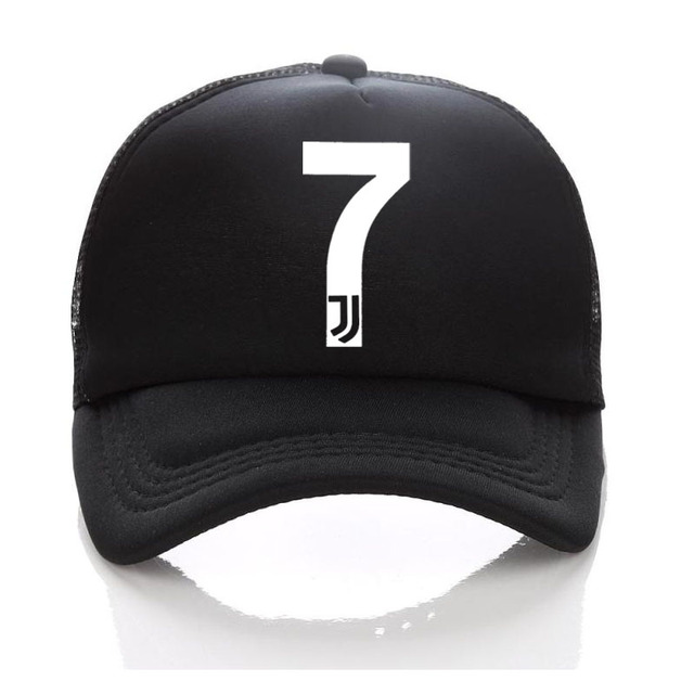juventus hat Kids Adult Summer Baseball Hat RONALDO Caps Fans JUVENTUS  Trucker Cap Net Snapback hats For Men Women 7 FANS 140ef4658a82