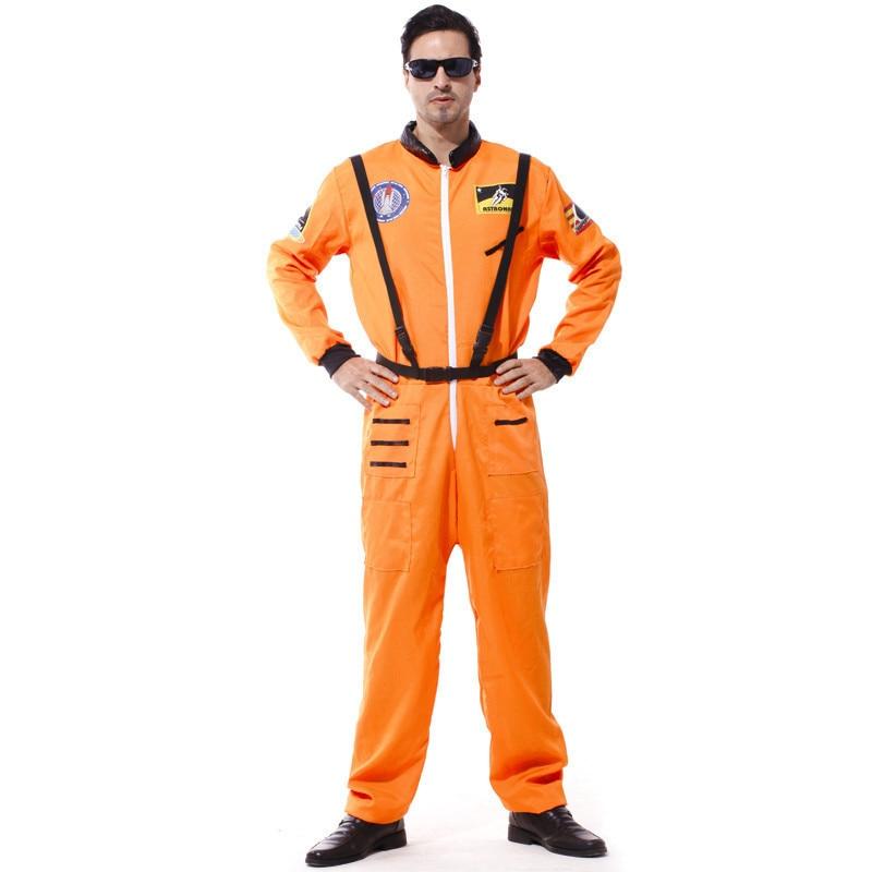 bangniweigou 2017 Astronaut Spacesuit Uniform Costume Adult Halloween Masquerade Clothing White Orange Cosmonaut Costume-in Movie u0026 TV costumes from Novelty ...  sc 1 st  AliExpress.com & bangniweigou 2017 Astronaut Spacesuit Uniform Costume Adult ...