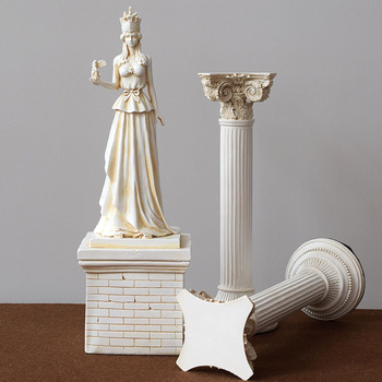 Creative Athena Goddess Statuary Head Picture Places Adornment Study Handicraft Tabletop Murals Ornament Accessories Furnishing